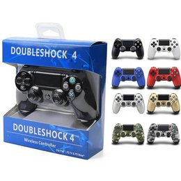 Station Wireless Controllers Australia - PS4 Wireless Game Controllers Joysticks for PS4 Controller Game Accessories Gamepad for Sony Play Station 4 DHL Shipping