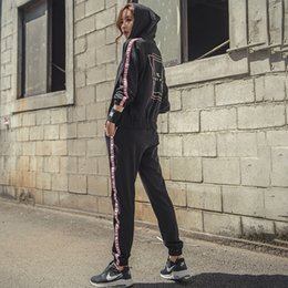 $enCountryForm.capitalKeyWord Canada - Women Sport Sets Fitness jogging Suits Female Gym Trainning Hooded Coats Shirts Soft Sweatpants Ladies Outdoor Active Sets #509832