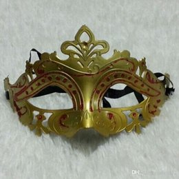 $enCountryForm.capitalKeyWord Australia - On Sale Party masks Venetian masquerade Mask Halloween Mask Sexy Carnival Dance Mask cosplay fancy wedding gift mix color 110127