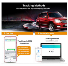 gps locator for cell phones UK - Vehicle Tracker GPS Tracker 3G Long Standby Waterproof IPX7 Voice Monitor SD WiFi Tracker Drop Alarm Car GPS Locator For Boat