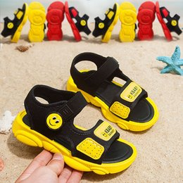 5384202e Niños Bebé Crochet Niña Descalza Princesa Dedo Del Pie Zapatos de Playa  Patrón Verano Catamite Movimiento Sandalias Niños Moda Niñas