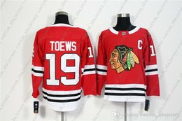 Toews red jerseys online shopping - Cheap Custom New Men s Chicago Blackhawks Jonathan Toews Red Home Hockey Jersey Personality stitching custom any name number XS XL