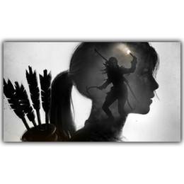 $enCountryForm.capitalKeyWord UK - Tomb Raider Lara Croft Game Hot Art Silk Print Poster 24x36inch(60x90cm)