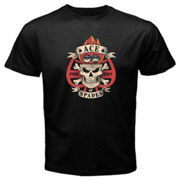 $enCountryForm.capitalKeyWord Australia - One Piece Spade Pirate Portgas D Ace Anime Manga Japan T-Shirt Summer Style Top Tee Round Neck Clothes