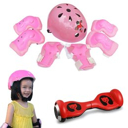 Elbow Supports Children Australia - 7Pcs set Kid Child Self Balancing Bike Roller Knee Protect Elbow Support Wrist Protector Helmet Pad Palm Guards Protector #616 #103278