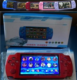 PmP mP5 mP4 games online shopping - 2019 NEW PMP GB GB handheld Game Console inch screen mp4 player MP5 game player real GB support for psp game camera video e book NEW