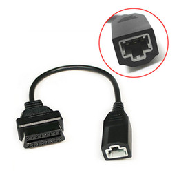 $enCountryForm.capitalKeyWord NZ - Obd 3pin 5Pin to OBD 2 16pin Cable For Honda Car Scanner OBD1 OBD2 OBDII Adapter 3 pin 5 Pin to 16 pin Connector