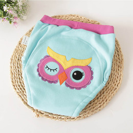 diaper gauze Australia - Baby Soft Panties 4 Layers Cotton Baby Training Pants Reusable Washable Diapers Underwear Mermaid Cartoon Embroidery Kids Clothing
