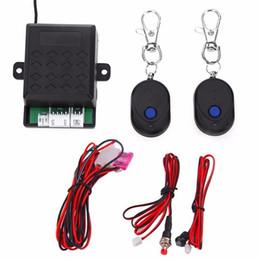 $enCountryForm.capitalKeyWord Australia - Universal Car Engine Push Start Remote Control Button Starter DC12V Car Keyless Entry Start Stop Immobilizer Button new