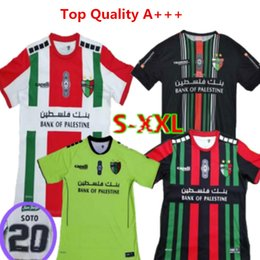 b1aeaa4e6ed New Club Deportivo Palestino Soccer Jersey Chile 2019 Futbol Camisetas  Palestino VALLEJOS CUTIERREZ ORRES ROSENDE Away Football Shirts kits