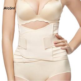 989f4b520f Girdle Belt women waist trainer Slimming tummy shaper Modeling Strap sexy  Corset Control Corrective stomach sweat belt Underwear