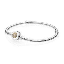$enCountryForm.capitalKeyWord Australia - 30% Silver Sterling Silver Women Bracelet Bangle fit Lady Bead Charm Pendant Dangle Signature Clasp Pave Crystals