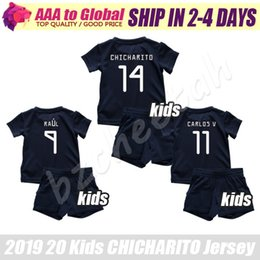 Children Jerseys Australia - Kids CHICHARITO jersey kit 2020 Children HERNANDEZ Football jerseys CARLOS VELA H.LOZANO M.LAYUN RAUL young soccer shirt set