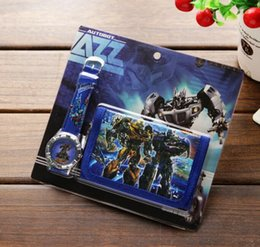 Transformer seTs online shopping - Transformers Children s Kids Boys Girls Watch Purse Wallet Set Gift T016