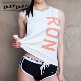Organic Cotton Yoga Australia - Duttedutta Women Sport Running T-Shirt Quick Dry Yoga Tops Woman Workout T Shirts Gym Fitness Sexy Clothes Tees Tops #74711