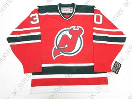 Cheap custom MARTIN BRODEUR NEW JERSEY DEVILS VINTAGE CCM GREEN HOCKEY  JERSEY stitch add any number any name Mens Hockey Jersey XS-5XL 78121fb36