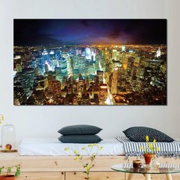 paris canvas prints Australia - Wall decoration prints canvas paintings paris buildings skyscrapers