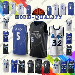 acccb13dff4 promotion 5 Mohamed Tracy Bamba Jerseys 1 Mcgrady 32 Shaquille O Tim Neal 1  Hardaway Jersey Adult shirt retro Cheap sales