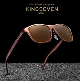 $enCountryForm.capitalKeyWord Australia - KINGSEVEN Brand Design Pilot Sunglasses Men and Women Polarized Mirror Hollow Frame UV Glass Goggles For Driving Fishing N7866