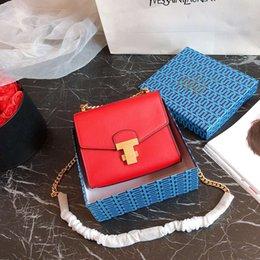 Color Leather Bags Australia - famous fashion women bags TB lady leather handbags famous Designerbags purse shoulder tote Bag female Multi color ZDL 89.
