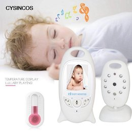 "wireless cameras Australia - Drop shipping CYSINCOS Monitor Video 2-Way Talk with Camera Wireless 2.0"" LCD Display Baby Lullaby Night Vision Temperature"