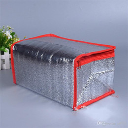 $enCountryForm.capitalKeyWord Australia - Aluminum Foil Cooler Portable Stripe Water Proof Cold Compress Package Thermal Insulation Bag Ice Pack Insulated Zipper 2 8zyC1