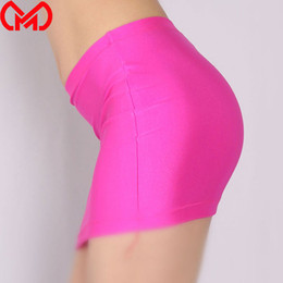 spring tights plus size NZ - MEISE Lycra Tight Pencil Mini Skirt Shiny Cute Micro Mini Skirt Sexy Club Skirt Candy Color Plus Size Stage Wear For Women F24