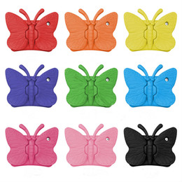 ipad mini case butterfly 2019 - Soft EVA Foam Case For iPad mini 1234 New iPad 2017 Butterfly Stand Portable Tablet Cover For iPad 2 3 4 Samsung Tab