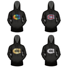 montreal sweatshirt Australia - Montreal Canadiens gold series white Mens Sweatshirt Warm Hoodie Gay pride rainbow Distressed love Camouflage red Marble
