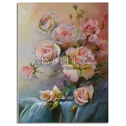 diamond painting round rhinestones NZ - 5D DIY Diamond Painting Cross Stitch Roses Crystal Rhinestone Diamond Embroidery Full Round Diamond Mosaic Needlework Pictures