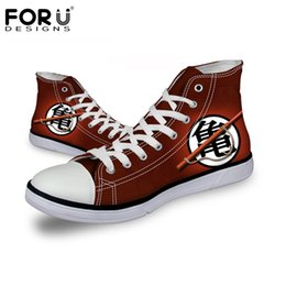 6bec61fac82 FORUDESIGNS Flats Men Shoes Anime One Piece Print High Top Autumn Men s  Sneakers Casual Canvas Vulcanize Shoes for Teenage Boys  217297