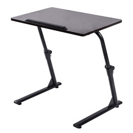 lift beds Canada - Modern Lifting Notebook Stand Table Computer Desk Bedside Sofa Bed Notebook Stand Computer Desk Folding Adjustable Laptop Table