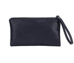 China Clutch Bag UK - Men's Zipper Coin Bag, PU Leather Wallet Mini Card Coin Money Key Phone Purse Bag Clutch Bag Case