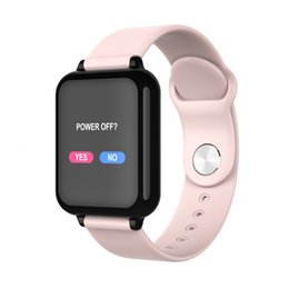 $enCountryForm.capitalKeyWord Australia - B57 fitness tracker smart watch Waterproof Sport For IOS Android phone Smartwatch Heart Rate Monitor Blood Pressure Functions