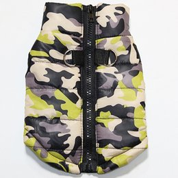 Wholesale designer army jackets resale online – Venxuis Small Dogs Teddy Army Coat Costume Vest Winter Warm Dog Clothes For Small Dogs Pet Outfit Jacket Puppy Chihuahua Clothes Dog Apparel