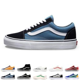 894eefc204 Men Van Shoes Australia - Original Brand Vans old skool fear of god men  women canvas