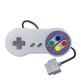 super tablet NZ - New Classic USB Controller PC Controllers Gamepad Joypad Joystick Replacement for Super Nintendo SF SNES NES Tablet PC LaWindows MAC DHL