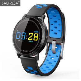 $enCountryForm.capitalKeyWord Australia - SALFRESA Color Screen Bracelet Heart Rate Fitness Tracker Wristband Smart band Blood Pressure Watch for IOS Android PK X2 Fit bi