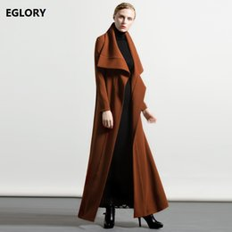 $enCountryForm.capitalKeyWord Australia - XXXXL Women Trench Long Coats 2017 Autumn Winter Women Big Turn-down Collar Maxi Overcoats Plus Size Female Clothes
