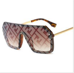 Sand SunglaSSeS online shopping - Women Designer Sunglasses Summer Fashion FF Letter Sun Glasses Brand Fends Large Frame Sunglasses Sea Beach Sand proof Sunglass B6271