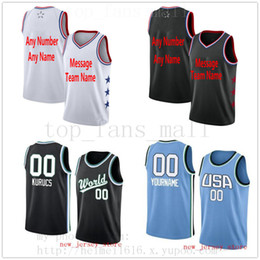 08c8f6b8cf6 Custom Printed AllStarJerseys Top Quality 2017-2018 Mens Kids Youth White Black  Jersey. Message number and name on the order. Soccer Jerseys