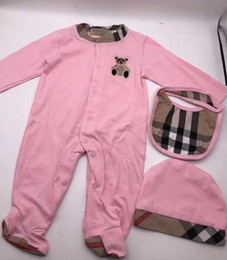 neonatal clothing NZ - New Type of Neonatal New Cotton Long Sleeve Crawling Clothes for Male and Female Babies