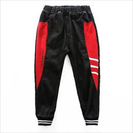 $enCountryForm.capitalKeyWord Australia - Children's jeans Boy fashion casual stitching feet feet pants Kids baby spring autumn trousers clothes