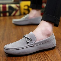 Slip Casual Shoes Cheap NZ - Mens Espadrilles Summer Fashion Flat Men Shoes Male Casual Shoes Slip On Lazy Men Flats Shoes Cheap Moccasins Men Loafers