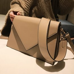 $enCountryForm.capitalKeyWord Australia - European Fashion Casual Square Bag 2018 New High Quality Pu Leather Women's Designer Handbag Simple Shoulder Messenger Bags Y190619