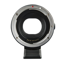 lens mounting adapter Australia - Lens Adapter, For EOS M Camera To EF EF S Mount Lens