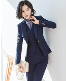 Wholesale tuxedos for women resale online - Special link for Corey Williams women suit Wear Wedding Tuxedos Suits Grey Business Suit Jacket Pants Vest