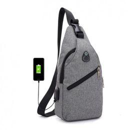 222dfcfb5f Male chest Bag Fashion Leisure Waterproof Man Oxford Cloth Korea Style Messenger  Shoulder waist Bag For Teenager Bag MMA1361