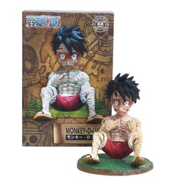 Action & Toy Figures One Piece Luffy Action Figure One Piece Film Gold Ver Monkey D Luffy Doll Pvc Acgn Figure Garage Kit Toy Brinquedos Anime 12cm For Sale