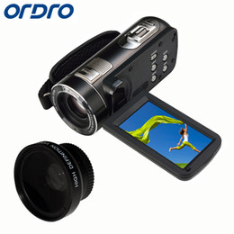 5x Zoom Camera Australia - Ordro HDV-Z80 10x Optical Zoom HD 1080P Digital Video Camera 5X Digital Zoom Remote Control Camcorder 3'' Touch Screen